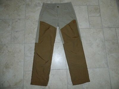 NEW Eddie Bauer Seattle Cordura Fabric Men Two Tone Adventure Pants sz 30X31