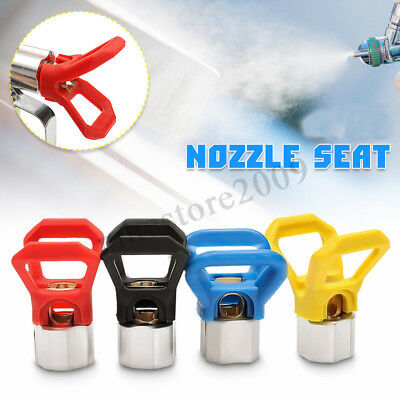 Airless Paint Spray Gun Accessory Flat Tip Nozzle Guard Seat For Sprayer