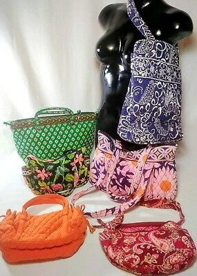 Vera Bradley Women's Handbag Bundle Gently Used
