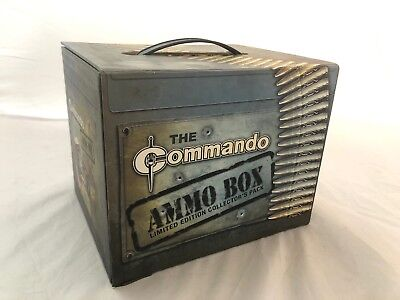 The Commando Ammo Box & Cert. Ltd Ed. Plus Extra Commando Books And Comics