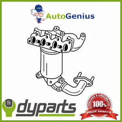 Catalizzatore Ford Fiesta V (Jh_, Jd_) 1.25 16V 2002>2008 Dyparts 25188