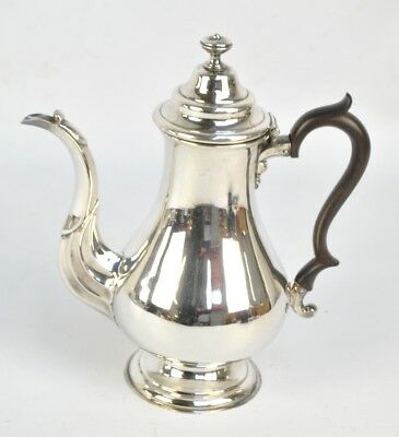Mid 19th century Silver Plated  Coffee Pot of Georgian Form (PRICE REDUCED)