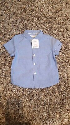 Baby boy NEXT shirt size 6-9 months