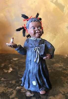 All God's Children Figurine SELINA JANE Black Americana COA And BOX