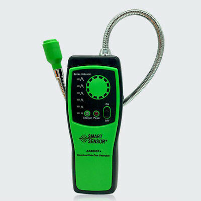 Combustible Gas Detector Methane Propane Leakage Tester Flammable Gas Meter