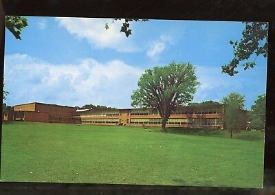 Greeting Postcard West Virginia Princeton High School WVA E80