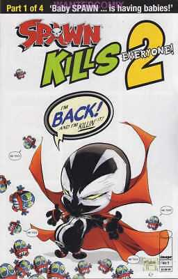 Spawn Kills Everyone Too #1 (Of 4) Cover A Clean Mcfarlane Dec 2018 Comic Book
