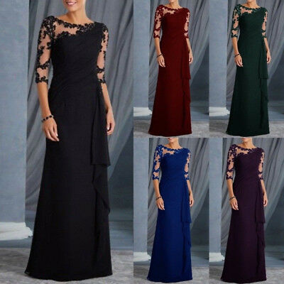 Women Dress Long Formal Evening Party Gowns Maxi Brand New