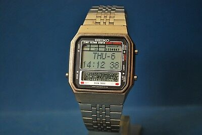 Vintage Seiko Lcd  D409-5020 Ao. Sign Table Memo.  Alarm/Chron.    V.v.rare*