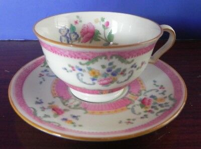 "Vintage Royal Doulton Demitasse  Cup and Saucer ""The Charlotte"""