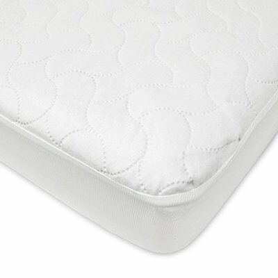 Fitted Baby Company Waterproof American Crib And Toddler Protective Mattress Pad
