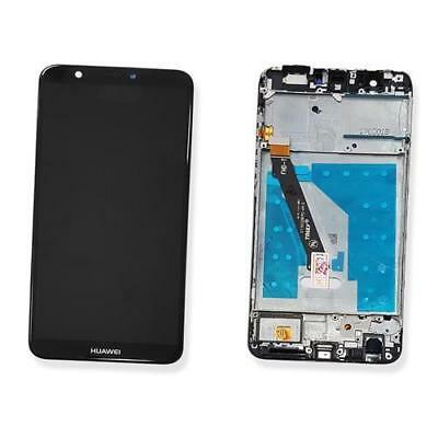 Display Lcd + Touch Screen Huawei P Smart Nero Black Con Frame Fig-Lx1