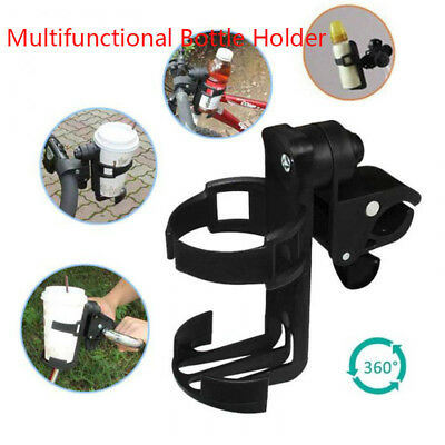 Universal Milk Drink Bottle Coffee Cup Holder for Baby Stroller Pram Bicycle New
