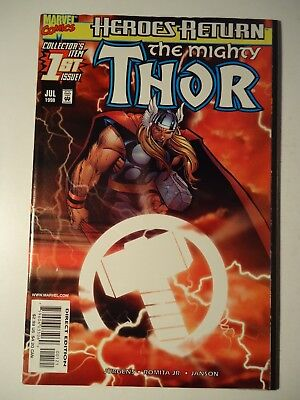 THE MIGHTY THOR #1, Marvel, 1998. VFn *SUNBURST VARIANT*