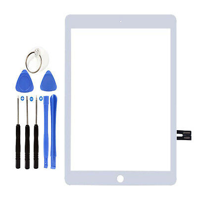 """For iPad 6 6th 2018 Gen 9.7"""" 2018 A1893 A1954 Touch Screen Digitizer Glass White"""