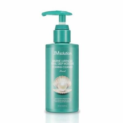 JM Solution Marine Luminous Pearl Deep Moisture Foaming Cleanser 200ml / Korea