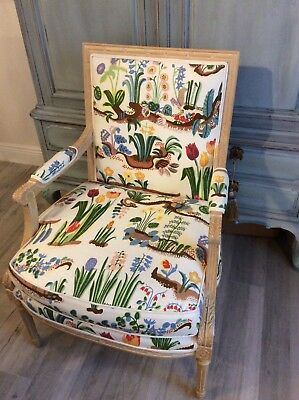 """Josef Frank """"Primavera"""" in this beautiful Bergere SWEDISH/FRENCH style chair"""