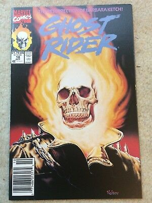 Ghost Rider Vol. 2 #18 *The Return of Barbara Ketch! * *99 Cent Auction Event*