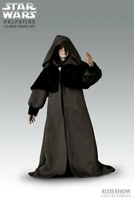 Sideshow 1/6 Star Wars Pack 2 Canciller & Darth Sidious Palpatine  – 30 Cm