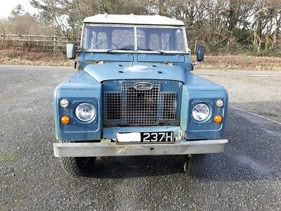 Land Rover Series 2A with perkins prima turbo diesel