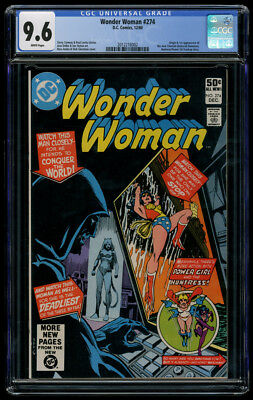 Wonder Woman #274 CGC 9.6 White Pages 1st Appearance New Cheetah Deborah Domaine