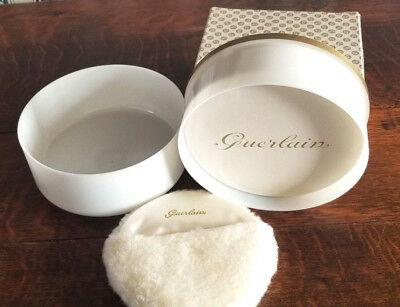 Vintage Guerlain Shalimar Dusting Powder  8 oz Unopened With Box & Puff