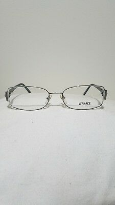 222b7e2871 NEW VERSACE 1062-B Sleek Eyeglass Frame glasses Made In Italy With ...