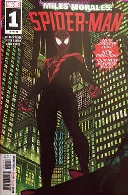 Miles Morales Spider-Man #1 Dec 2018 Marvel Comic Book New Series Hot Issue