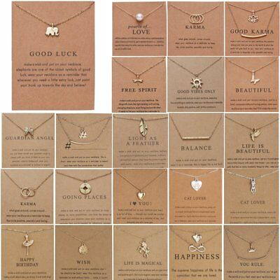 Women Animal Owl Cat Clavicle Short Card Necklace Pendant Gold Chain Jewelry Hot
