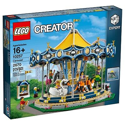 Lego Creator Carousel 10257 Brand New But Box Is Not Included