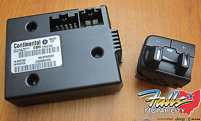 2016-2019 RAM 1500(DS) 2500 3500 Integrated Trailer Brake Controller MOPAR OEM