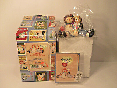 Raggedy Ann and Andy  Enesco  Figurines forever true  544876