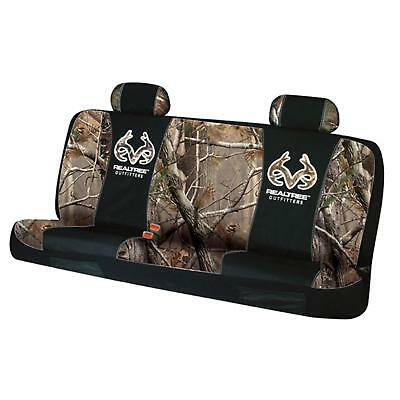 Realtree Outfitters Realtree AP Logo Bench Seat Cover, RSC5002