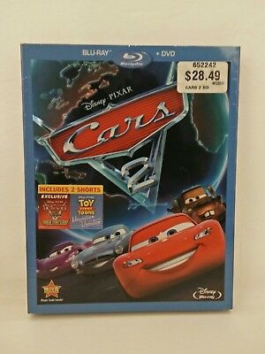 Cars 2 (Blu-ray 2011 with Slipcover)