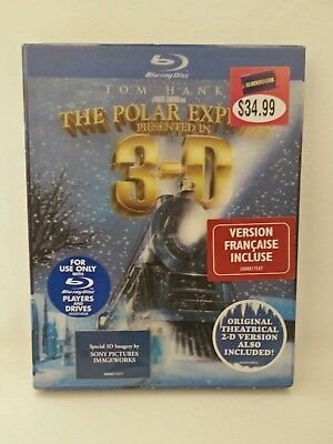 The Polar Express (Blu-ray Disc, 2008, 3-D) Lenticular Slipcover