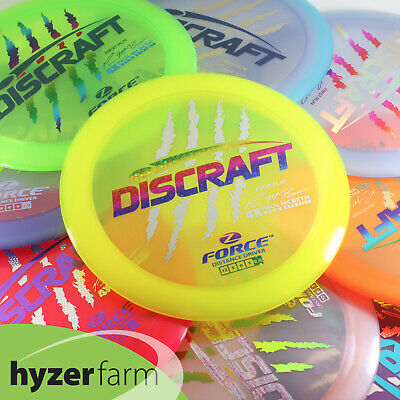 81402e87b43 Discraft FIRST RUN PAUL MCBETH STAMP Z FORCE  pick weight color  Hyzer Farm