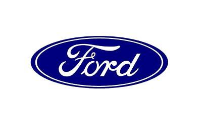 """Ford Truck Logo Oval Front Grill Emblem Badge Replacement 9/"""" X 3.5/"""" Symbol Trim"""