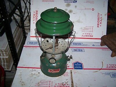Coleman Lantern 220F Dated 5-69 For Parts Or Restore