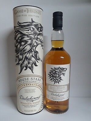 Game of Thrones Collectible Scotch Dalwhinnie House Stark Single Malt
