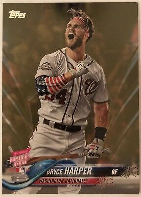 Lot of (14)2018 Topps Update BRYCE HARPER #202 Nationals Plus 1 Gold Card