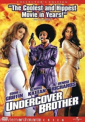 Undercover Brother (DVD, 2003, Widescreen) Collector's Edition