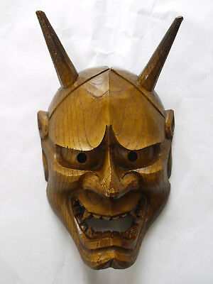 Japanese Hannya Mask / Demon Devil Kabuki Noh Kyogen #13