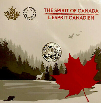 2017 $3 *FINE SILVER COIN*THE SPIRIT OF CANADA Sealed from Royal Canadian Mint