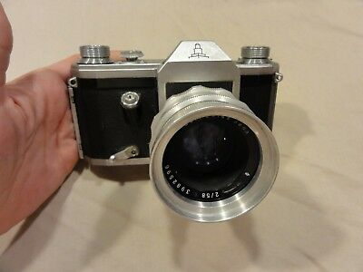 Carl Zeiss Camera WW2 Made in Germany,Marked Germany US Occupied
