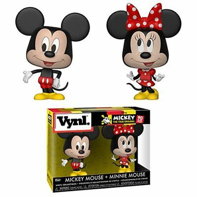 PRE SALE! Mickey Mouse and Minnie Mouse Vynl. Figure 2-Pack by Funko
