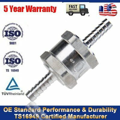 """High Quality New 6mm 1/4"""" One Way Non Return Fuel Line Check Valve Petrol Diesel"""