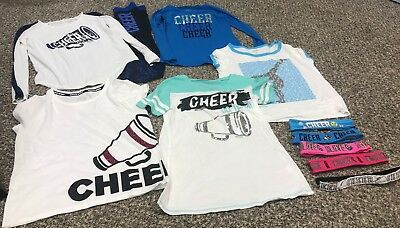 Girls Size 10 Clothes Lot JUSTICE cheer/tumbling/gymnastics