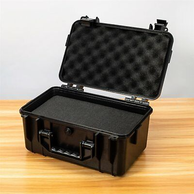 Waterproof Hard Plastic Case Travel Tool Storage Box Portable Padded Organizer