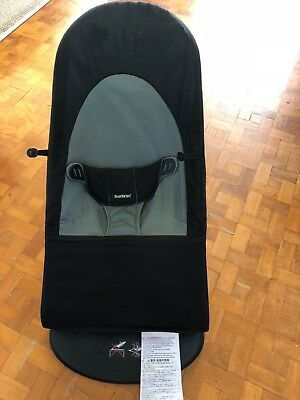 BabyBjörn Bouncer - (Black) - Excellent used condition