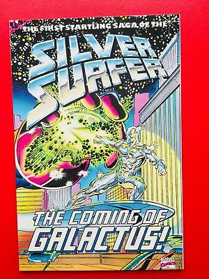 Silver Surfer The Coming of Galactus  1992 (TPB)